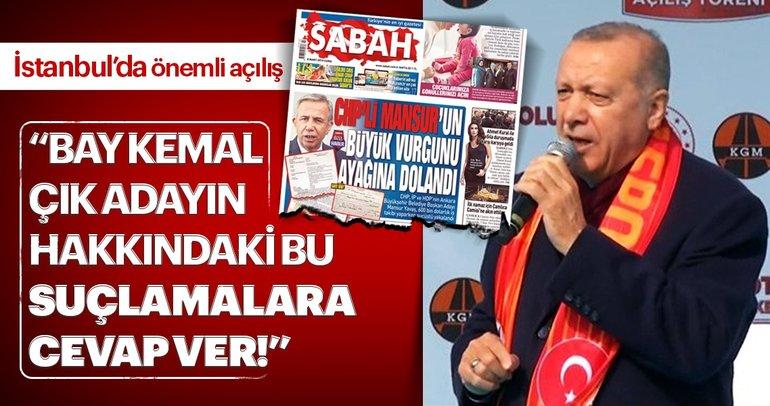 Son dakika: Başkan Erdoğandan sert tepki: Bay Kemal çık adayın hakkındaki bu suçlamalara cevap ver
