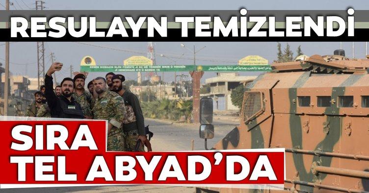 Resulayn temizlendi Tel Abyad sırada