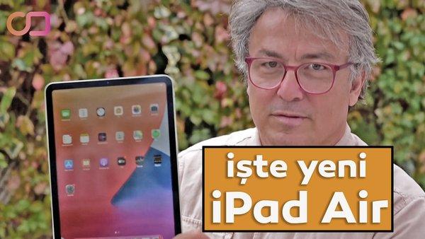 İşte 2020 yeni iPad Air'in özellikleri ve incelemesi! Yeni iPad Air performans canavarı A14 Bionic işlemci ile neler yapabilecek? | Video
