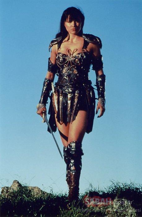 90'ların unutulmaz karakteri Zeyna Lucy Lawless değişimi ile şaşırttı! İşte Zeyna'nın son hali...