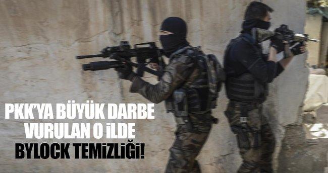 Mardin'de FETÖ/PDY operasyonu: 14 polis tutuklandı