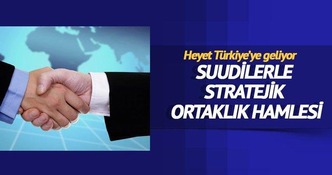 Suudilerle stratejik ortaklık hamlesi
