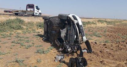 İpekyolu'nda takla atan otomobil sürücüsü ağır yaralandı