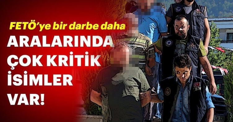 Son Dakika: Aralarında muvazzaf askerler ve sözde imamların da olduğu 20 kişi tutuklandı
