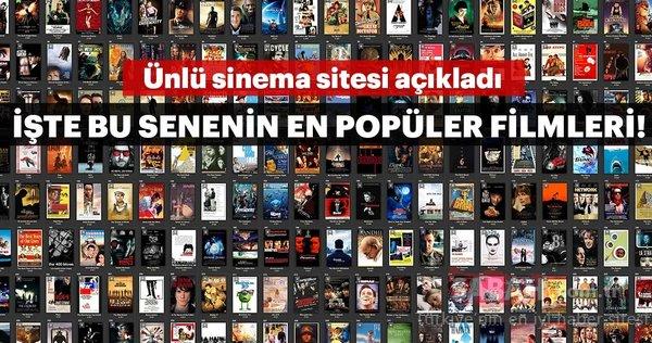 En popüler filmler