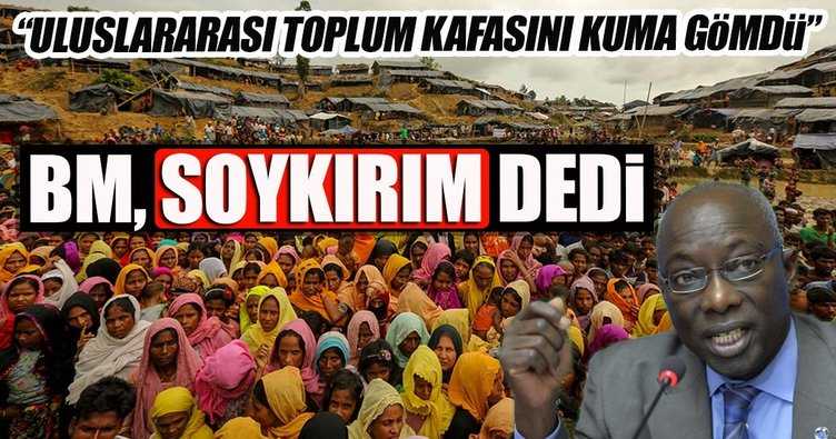 BM Soykırım danışmanı Dieng, uluslararası toplumun Arakan'daki vahşi suçlara sessiz kaldığını söyledi