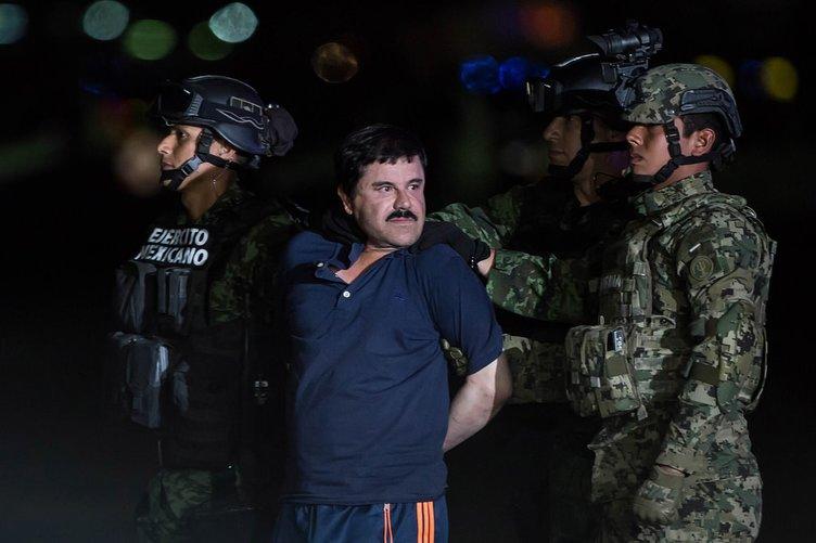 El Chapo yakalandı