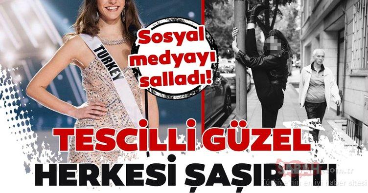 Tescilli güzel Aslı Melisa Uzun sosyal medyayı salladı!