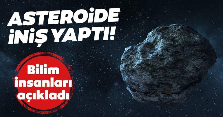 NASA'nın aracı Osirix-Rex Bennu asteroidine iniş yaptı!