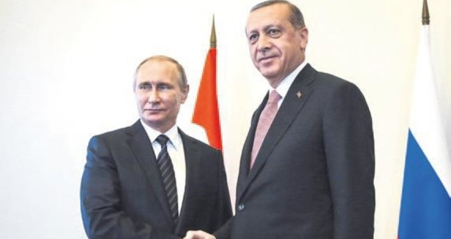 Gözler, Putin'in İstanbul ziyaretinde