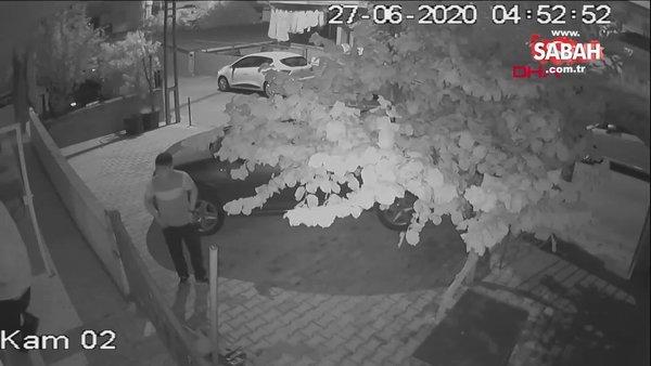 İstanbul'da hırsızlık şüphelisinden kameraya pişkin hareketler | Video