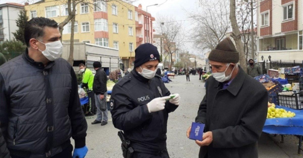 Kocaeli'de corona tedbirlerine uymayan 285 kişiye para cezası