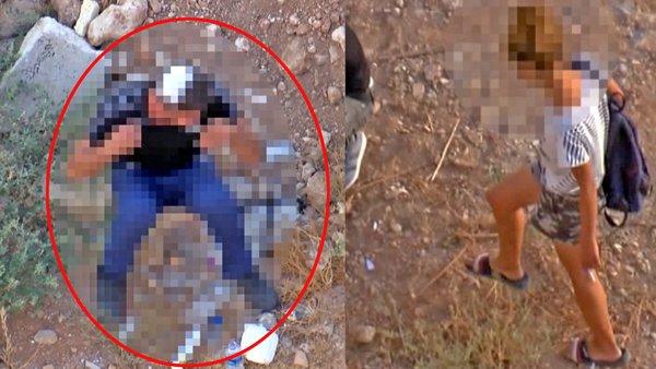 Son dakika! Antalya'da dehşet anı! Boynuna sapladı | Video
