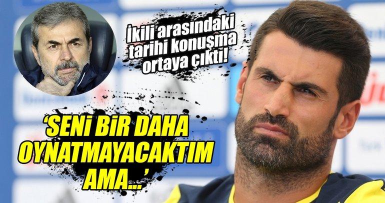 Volkan Demirel ve Aykut Kocaman arasındaki o konuşma ortaya çıktı!