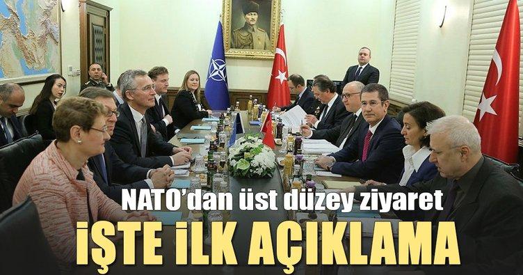 Son dakika: NATO Genel Sekreteri Stoltenberg Ankara'da