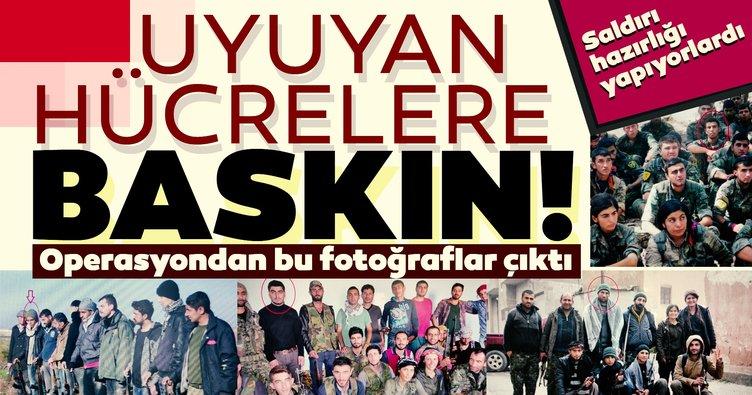 Son dakika haberi: PKK'nın uyuyan hücrelerine baskın! Saldırı için bekletiliyorlardı...