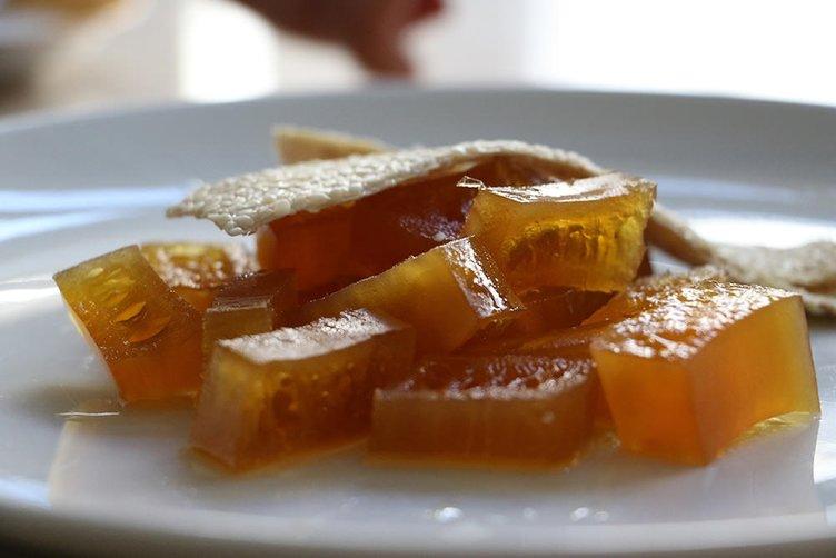 Yöresel kabak tatlısı iftar sofralarını süslüyor