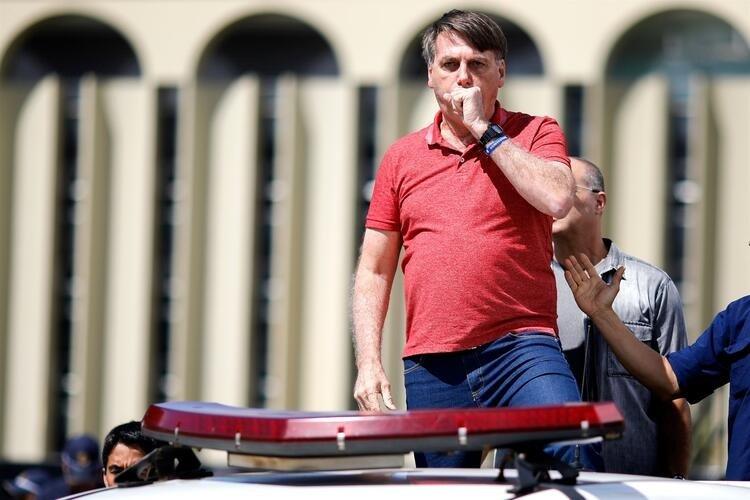 Son dakika haberi: Brezilya Devlet Başkanı Jair Bolsonaro bunu da yaptı! Dünya bu kareleri konuşuyor!