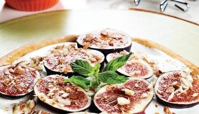 İncirli tatlı pizza tarifi