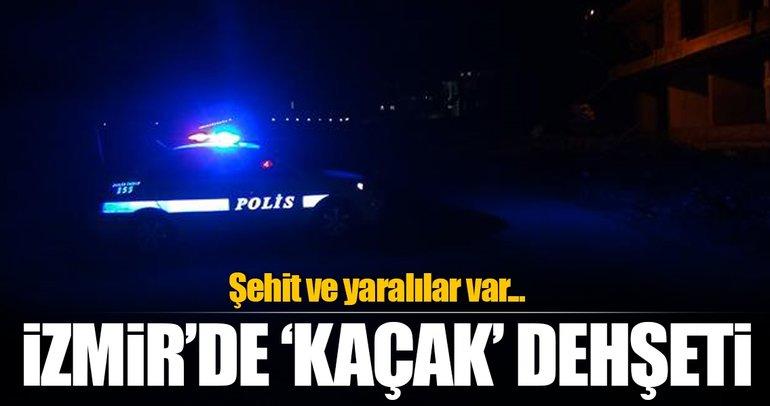 İzmir'de GBT kontrolünde polise bıçaklı saldırı: 1 şehit, 1 yaralı