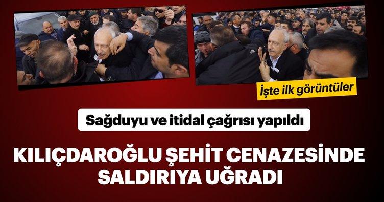 Son dakika haberi: Kemal Kılıçdaroğlu'na şehit cenazesinde saldırı gerçekleşti! Siyasiler sağduyu ve itidal çağrısında bulundu
