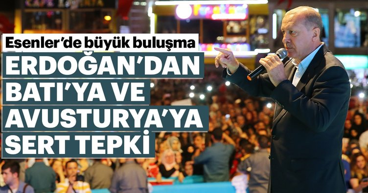 Cumhurbaşkanı Erdoğan: Kendine çeki düzen vermezse olay farklı yerlere gider