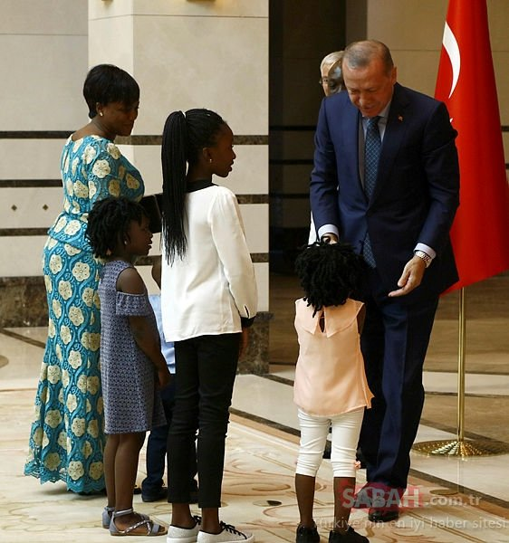Erdoğan'ın Külliye'deki sürpriz konukları