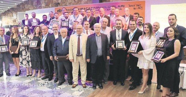 En çok maden ihracatı yapanlar ödüllerini aldı