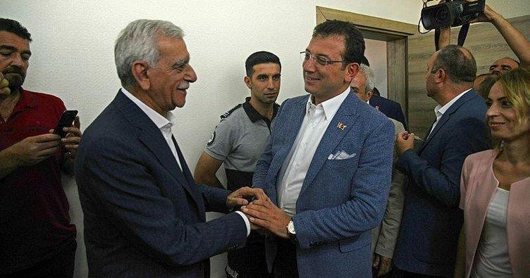 Ekrem İmamoğlu'ndan HDP'lilere destek
