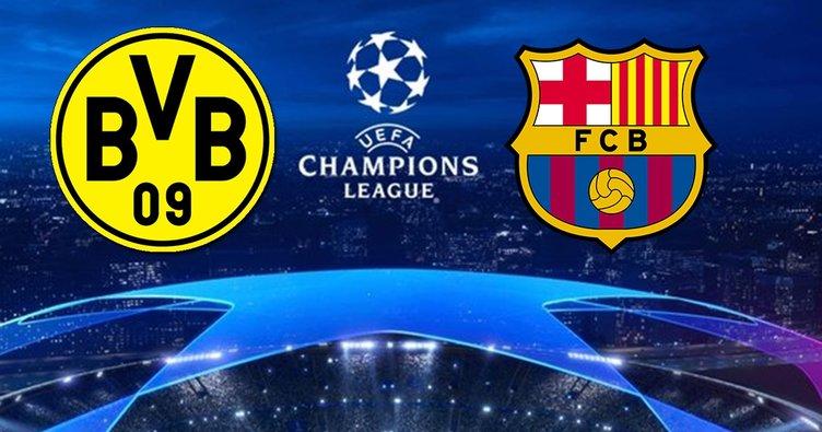Borussia Dortmund Barcelona maçı saat kaçta ve hangi kanalda? Borussia Dortmund Barcelona CANLI