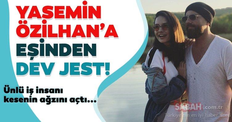 İzzet Özilhan'dan eşi Yasemin Özilhan'a dev jest! Ünlü iş insanı kesenin ağzını açtı