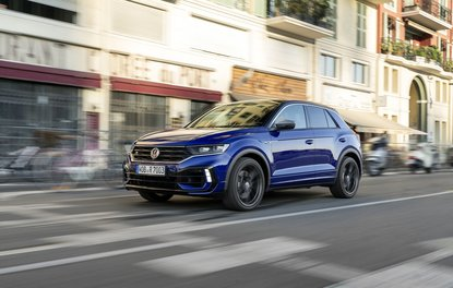 300 HP'LİK VW T-ROC R