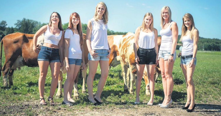 Köylü kızlardan 15'inci takvim