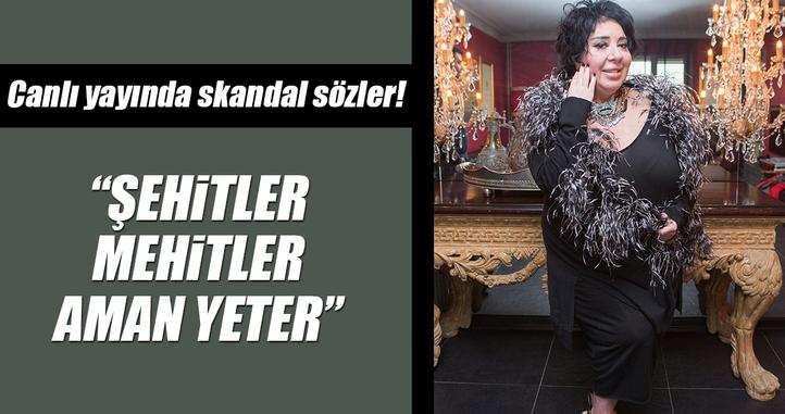 Nur Yerlitaş'tan canlı yayında skandal sözler: Şehitler mehitler aman yeter!