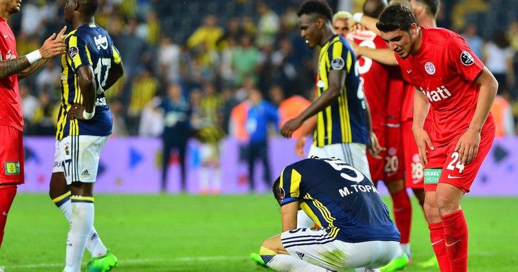 Fenerbahçe'den tarihin en kötü iç saha performansı!