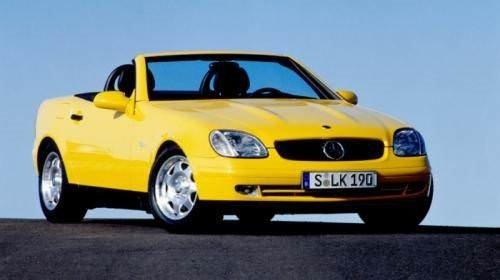 Mercedes SLK 20 yaşında
