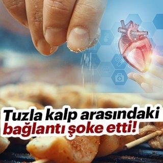 Tuzla kalp arasındaki bağlantı şoke etti!