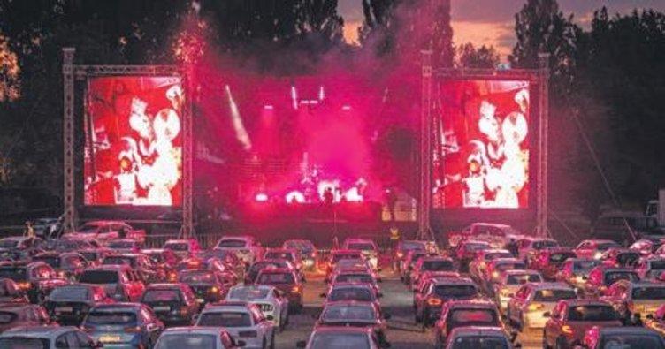 Tedbirli açık hava konseri