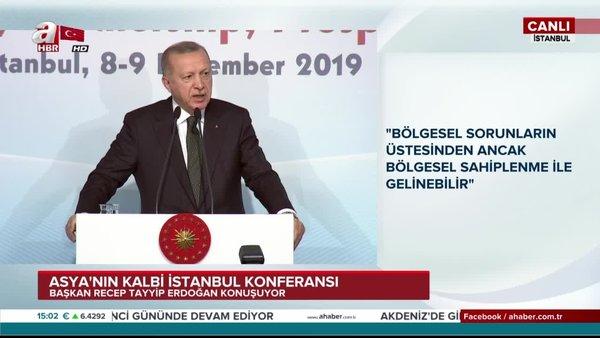 Başkan Erdoğan'dan Dolmabahçe Ofisi'nde önemli açıklamalar