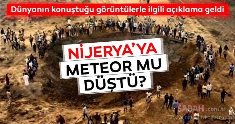 Son Dakika Haberi: Dünya Nijerya'ya meteor düştü iddiasını konuşuyor! Nijerya meteor mu düştü? Gerçek ortaya çıktı…