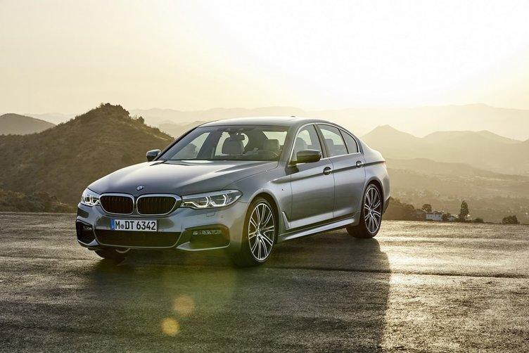 İşte yepyeni BMW 5 Serisi.