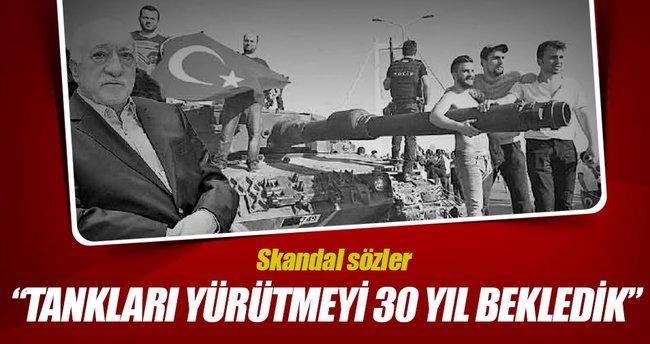 Gülen: Bir kez vuracagız tam vuracağız