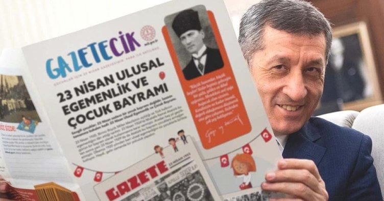 Son dakika: Milli Eğitim Bakanı Ziya Selçuk duyurdu! MEB'den çocuklara özel Gazetecik