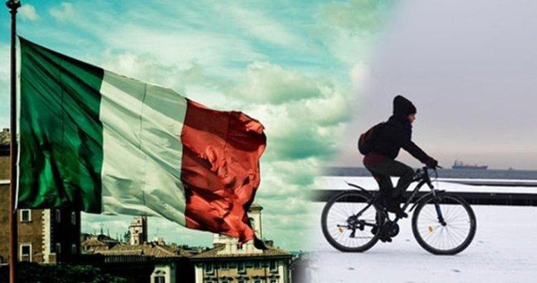 İtalya'da bisiklet kullanana ödül