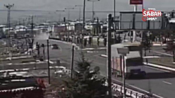 Feci kazanın güvenlik kamera görüntüleri ortaya çıktı | Video
