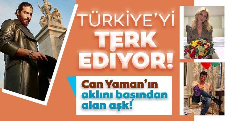 Can Yaman'ın İtalyan aşkı aklını başından aldı! Yakışıklı oyuncu Türkiye'yi terk ediyor...
