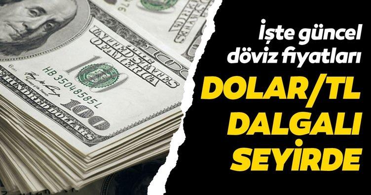 Dolar/TL dalgalı seyirde! İşte güncel döviz kurları