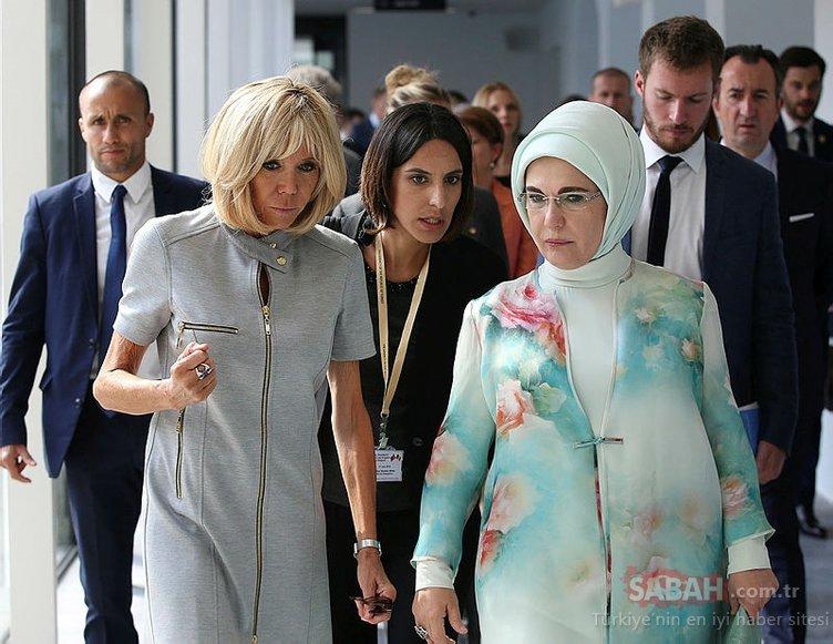 Emine Erdoğan, lider eşleri için hazırlanan özel programda...