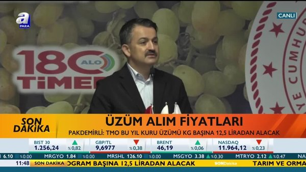 Son dakika: Tarım ve Orman Bakanı Pakdemirli: