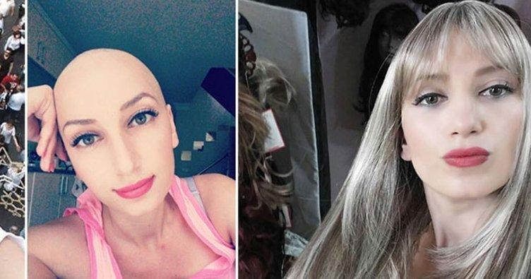 Kanser hastası Tuğba Arıcıoğlu kanser hastalarına ışık oldu!